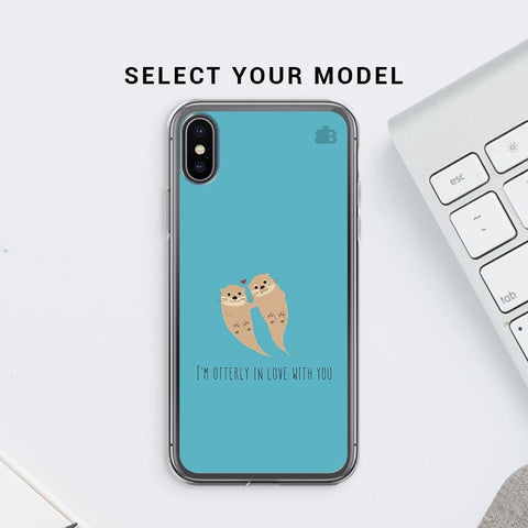 Otterly Love Soft Phone Cover
