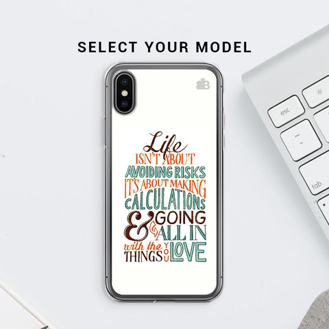 Making Calculations Soft Phone Cover