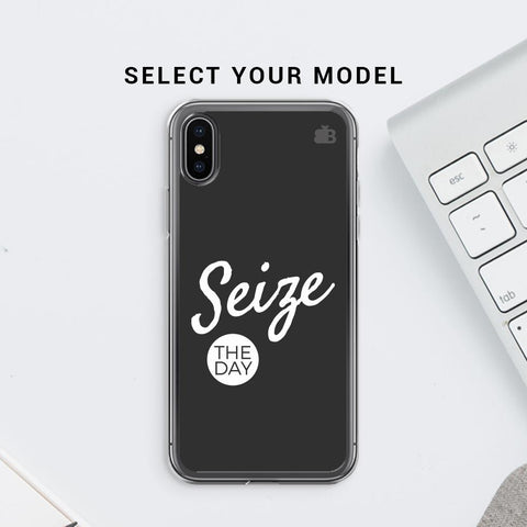 Seize The Day Soft Phone Cover