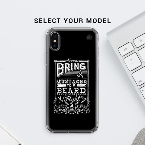 Beard Fight Soft Phone Cover