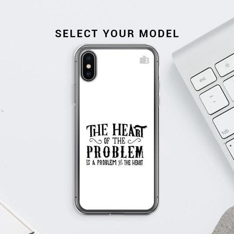 Problem of the Heart Soft Phone Cover