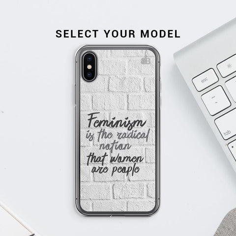 Radical Feminism Soft Phone Cover