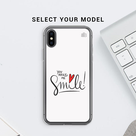 You make me Smile Soft Phone Cover