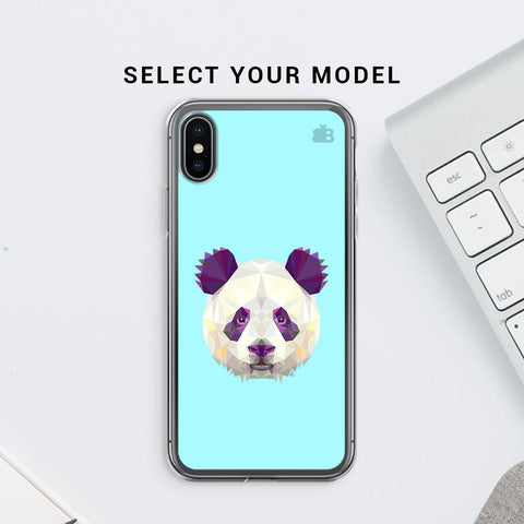 Abstract Panda Soft Phone Cover
