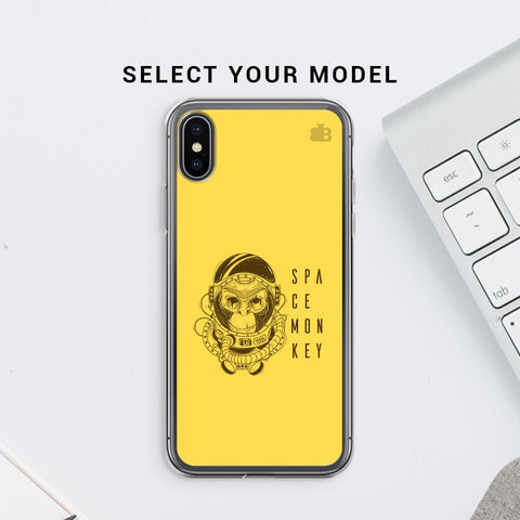 Space Monkey Soft Phone Cover