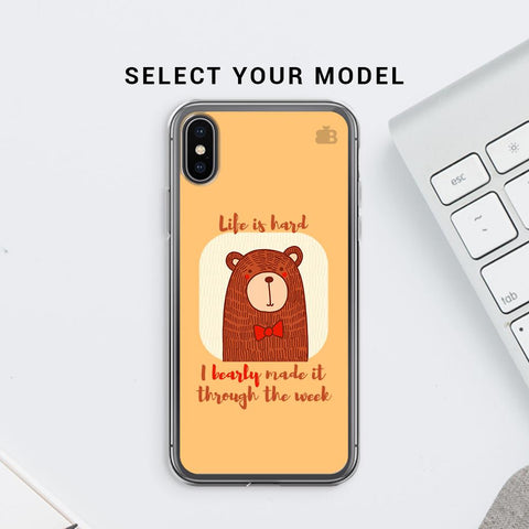 Bearly Made It Soft Phone Cover