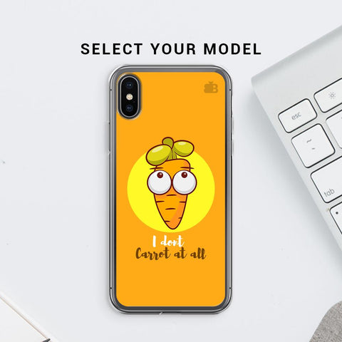 I Dont Carrot Soft Phone Cover
