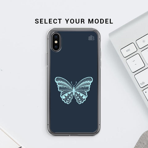 Ethnic Butterfly Art Soft Phone Cover