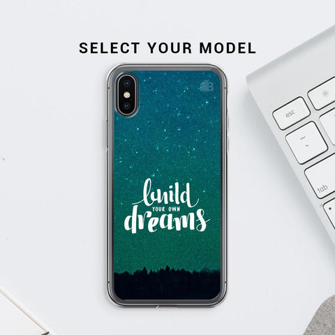Build your own Dreams Soft Phone Cover