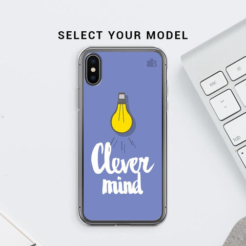 Clever Mind Soft Phone Cover