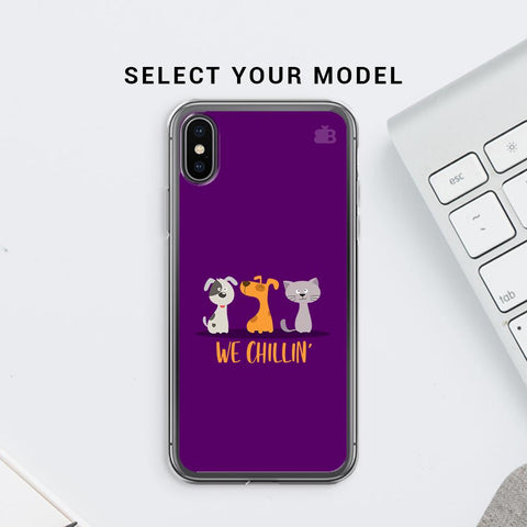 We Chillin Soft Phone Cover