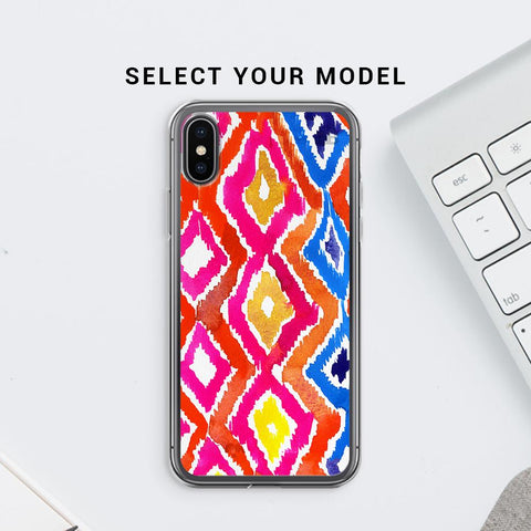 Colorful Ikat Soft Phone Cover