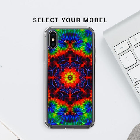 Kaleidoscope Die Soft Phone Cover