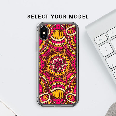 Colorful Ethnic Art Soft Phone Cover