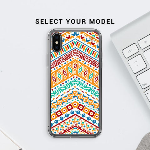 Wavy Ethnic Art Soft Phone Cover