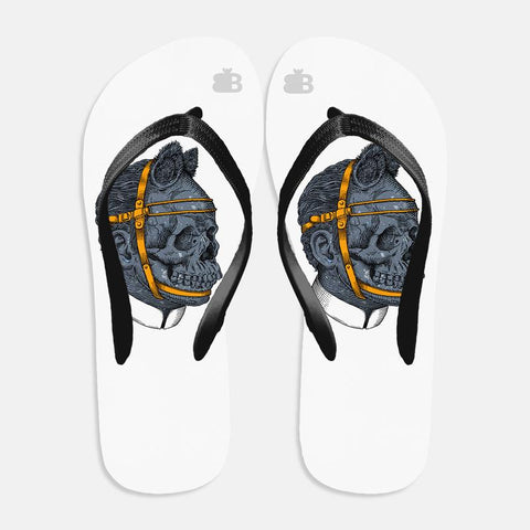 Deadly Art Flip Flops