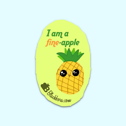 Fine Apple Sticker