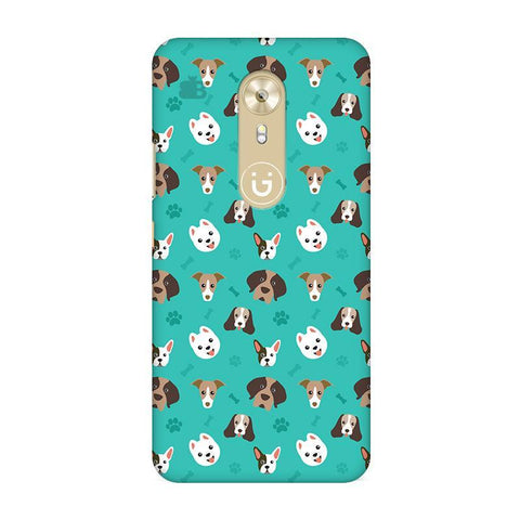 Doggie Pattern Gionee A1 Phone Cover