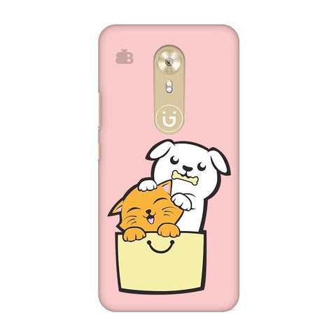 Kitty Puppy Buddies Gionee A1 Phone Cover