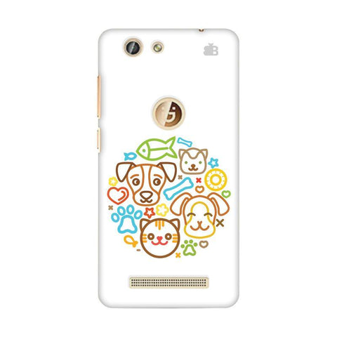 Cute Pets Gionee F103 Pro Phone Cover