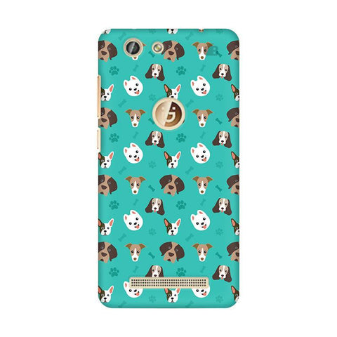 Doggie Pattern Gionee F103 Pro Phone Cover