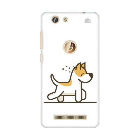 Happy Puppy Gionee F103 Pro Phone Cover