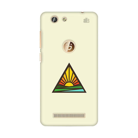 Triangular Sun Gionee F103 Pro Phone Cover