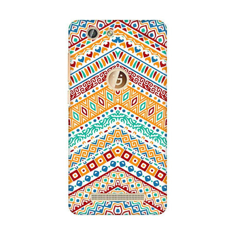 Wavy Ethnic Art Gionee F103 Pro Phone Cover