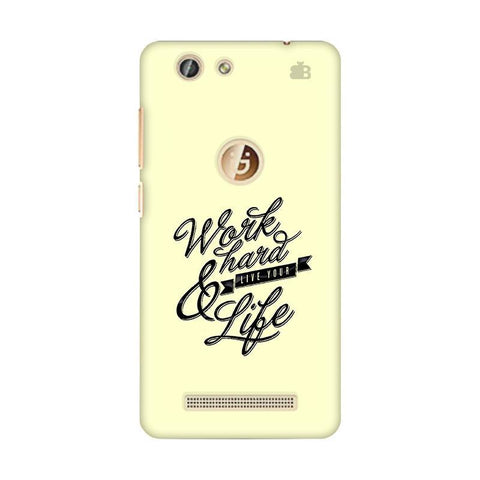 Work Hard Gionee F103 Pro Phone Cover