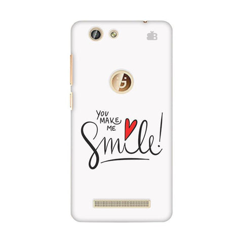You make me Smile Gionee F103 Pro Phone Cover