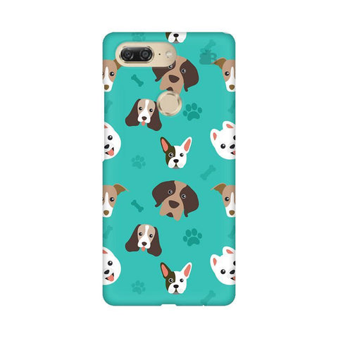 Doggie Pattern Gionee M7 Design Phone Cover