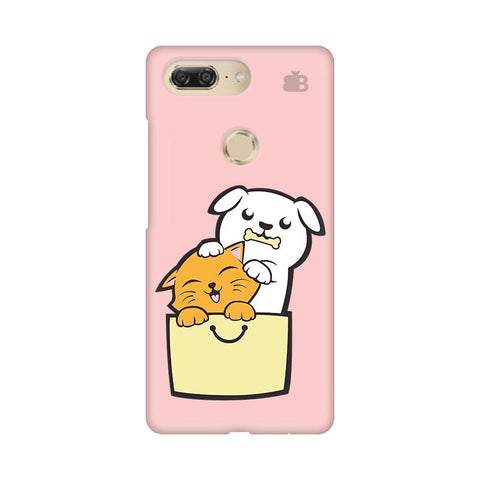 Kitty Puppy Buddies Gionee M7 Design Phone Cover