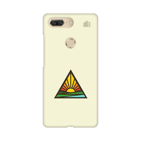 Triangular Sun Gionee M7 Design Phone Cover