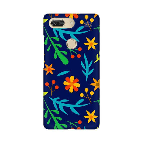Vibrant Floral Pattern Gionee M7 Design Phone Cover