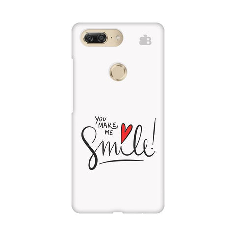 You make me Smile Gionee M7 Design Phone Cover