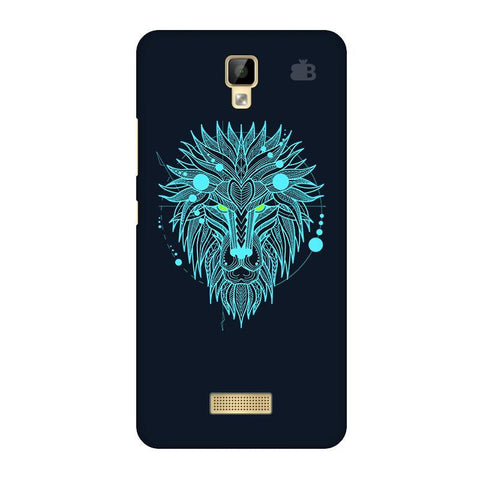 Abstract Art Lion Gionee P7 Phone Cover