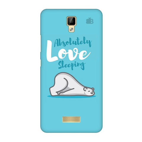 Love Sleeping Gionee P7 Phone Cover