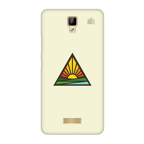 Triangular Sun Gionee P7 Phone Cover