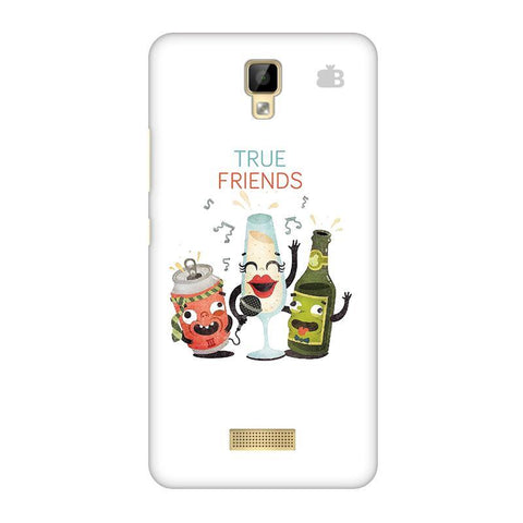 True Friends Gionee P7 Phone Cover
