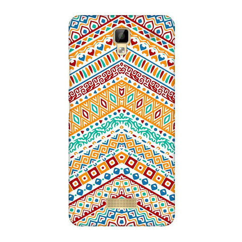 Wavy Ethnic Art Gionee P7 Phone Cover