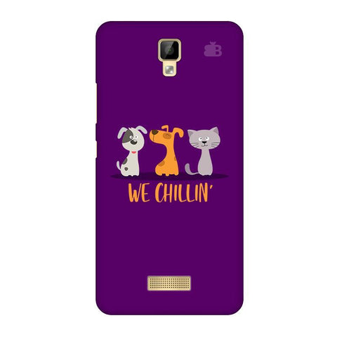 We Chillin Gionee P7 Phone Cover