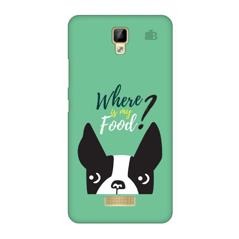 Where is my Food Gionee P7 Phone Cover