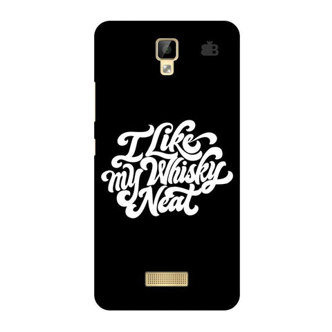 Whiskey Neat Gionee P7 Phone Cover
