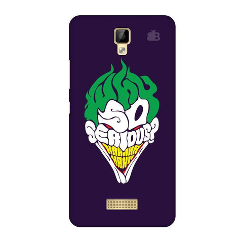 Why So Serious Gionee P7 Phone Cover