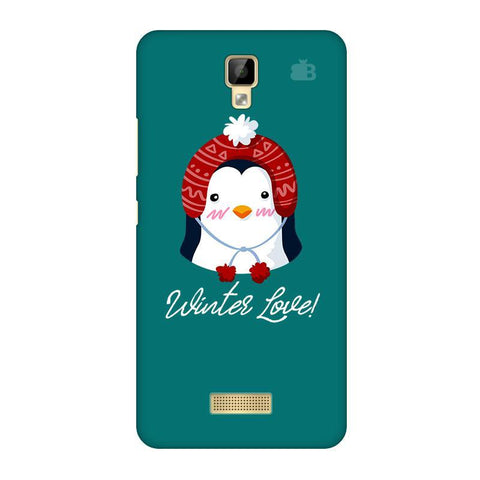 Winter Love Gionee P7 Phone Cover