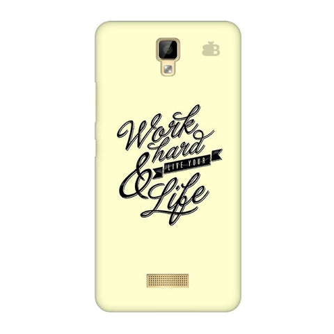 Work Hard Gionee P7 Phone Cover