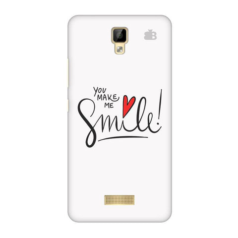 You make me Smile Gionee P7 Phone Cover