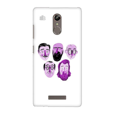 5 Bearded Faces Gionee S6S Phone Cover
