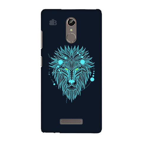 Abstract Art Lion Gionee S6S Phone Cover