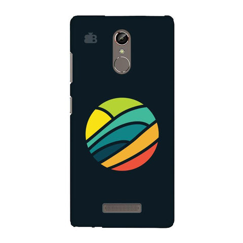 Abstract Circle Gionee S6S Phone Cover